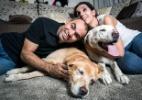 Cupidos, cães-guias ajudam casal de deficientes visuais a se apaixonar - Bruno Santos/Folhapress
