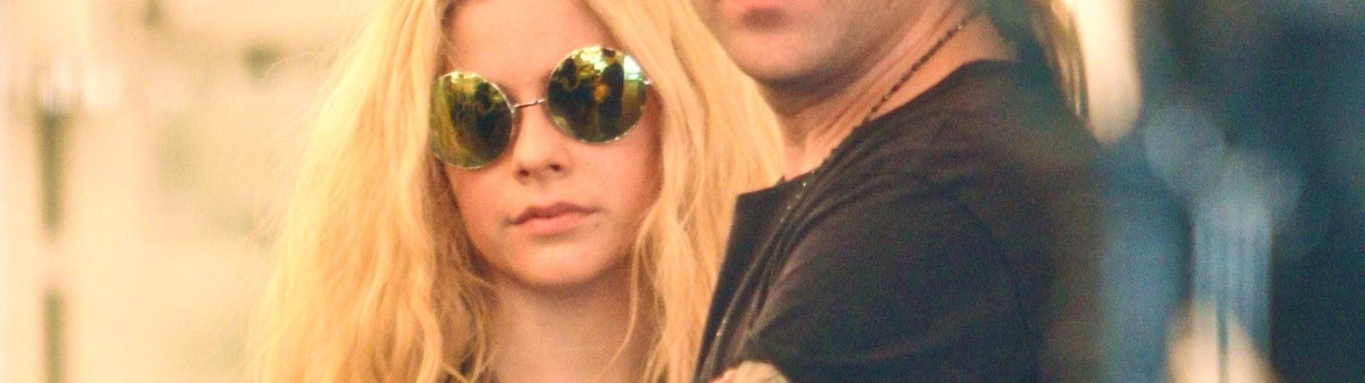 18.ago.2016 - Avril Lavigne e Ryan Cabrera fotografados juntos no início do ano em Hollywood, na Califórnia