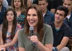 Solteira, sexóloga Laura Muller diz que homens ficam tensos ao chegar nela - Reprodução/TV Globo