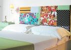 Aprenda a fazer cabeceira de patchwork (Foto: Décio Navarro/ Revista Minha Casa)