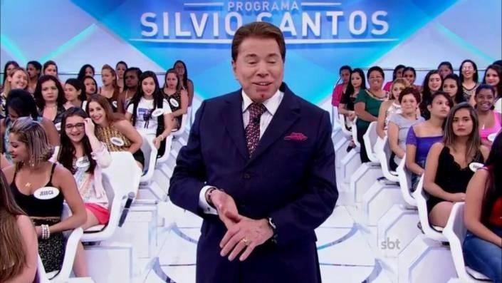 10.jan.2015 - Silvio Santos