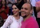 """Rapaz se declara para amiga no """"Você na TV"""" e dança forró no """"Sensacional"""" - Reprodução/RedeTV"""