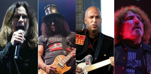 Ozzy monta supergrupo com Geezer Butler, Slash e Tom Morello