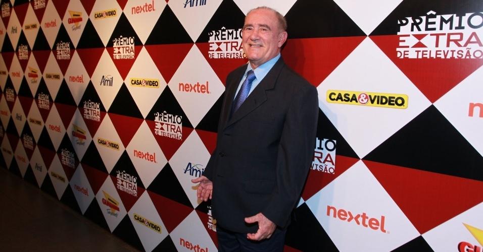 17.nov.2015 - Renato Aragão na 17ª edição do Prêmio Extra de Televisão, no Rio de Janeiro