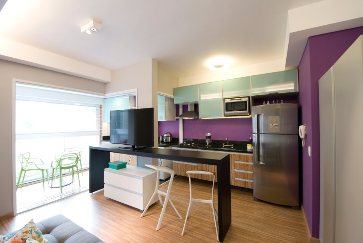 decoracao de sala jovem:de apenas 30 dias, o jovem casal de moradores recebeu um apartamento
