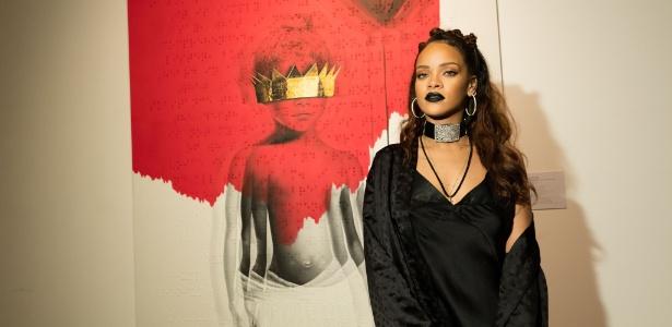 """Capa de """"Anti"""", o novo álbum de Rihanna"""