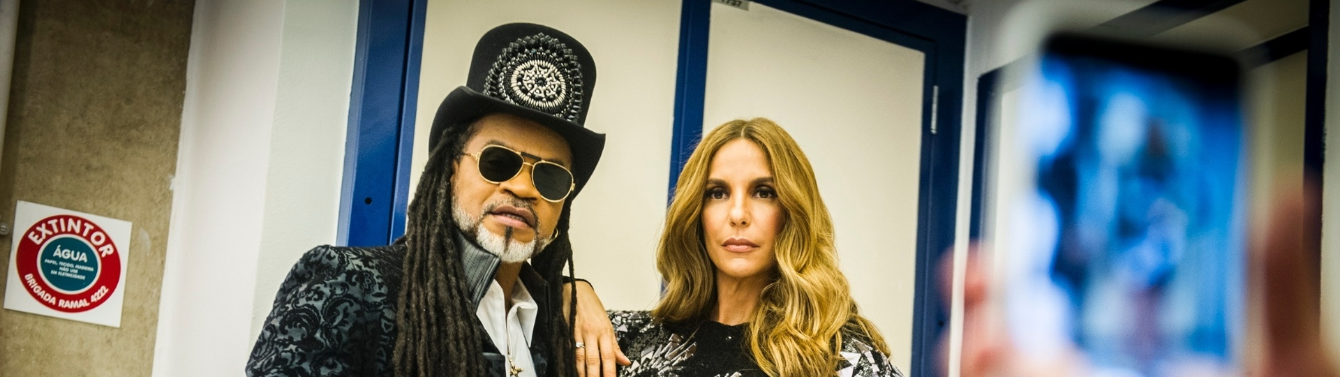 Ivete Sangalo e Carlinhos Brown no