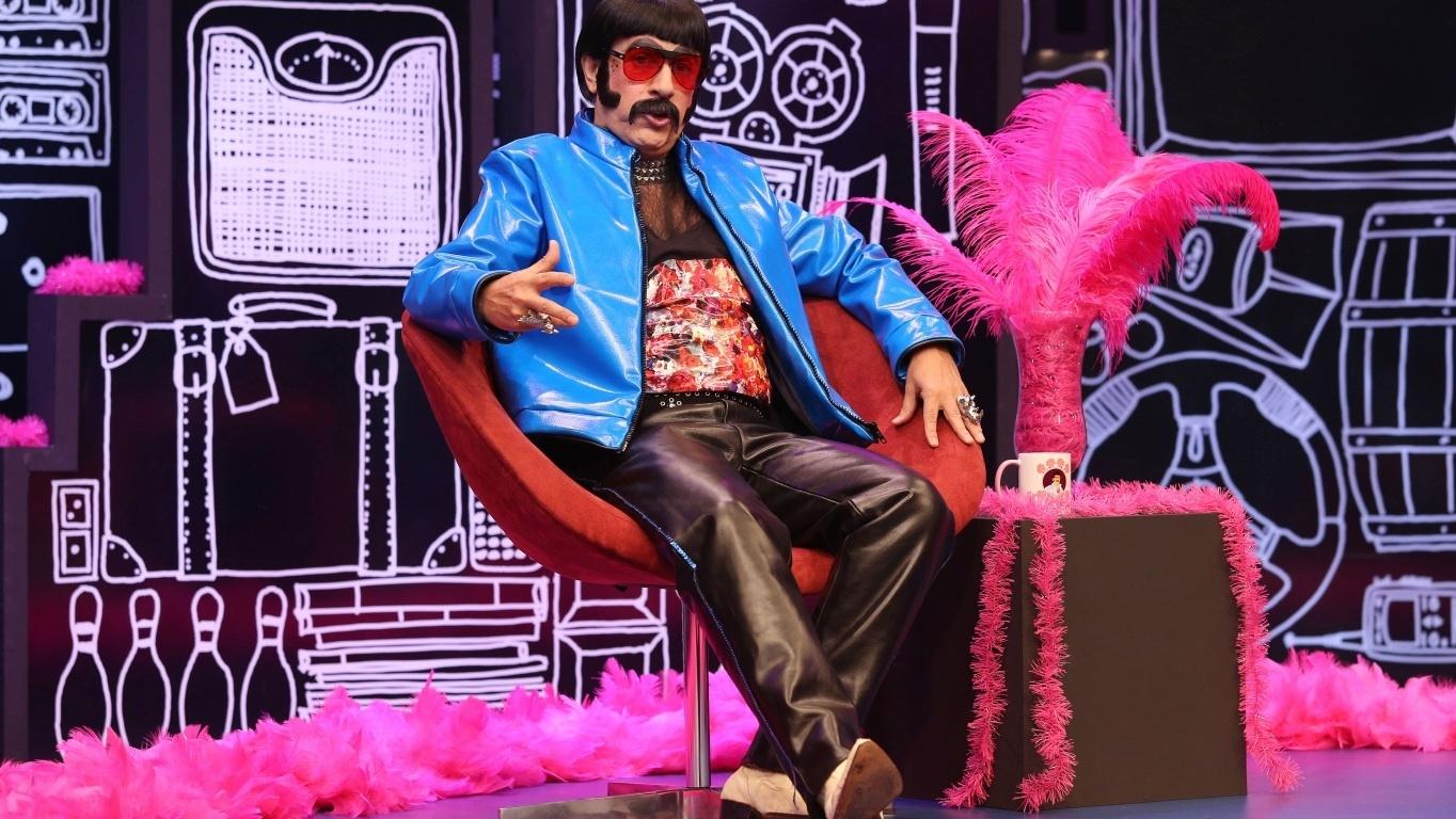 Tom Cavalcante em seu novo programa no Multishow
