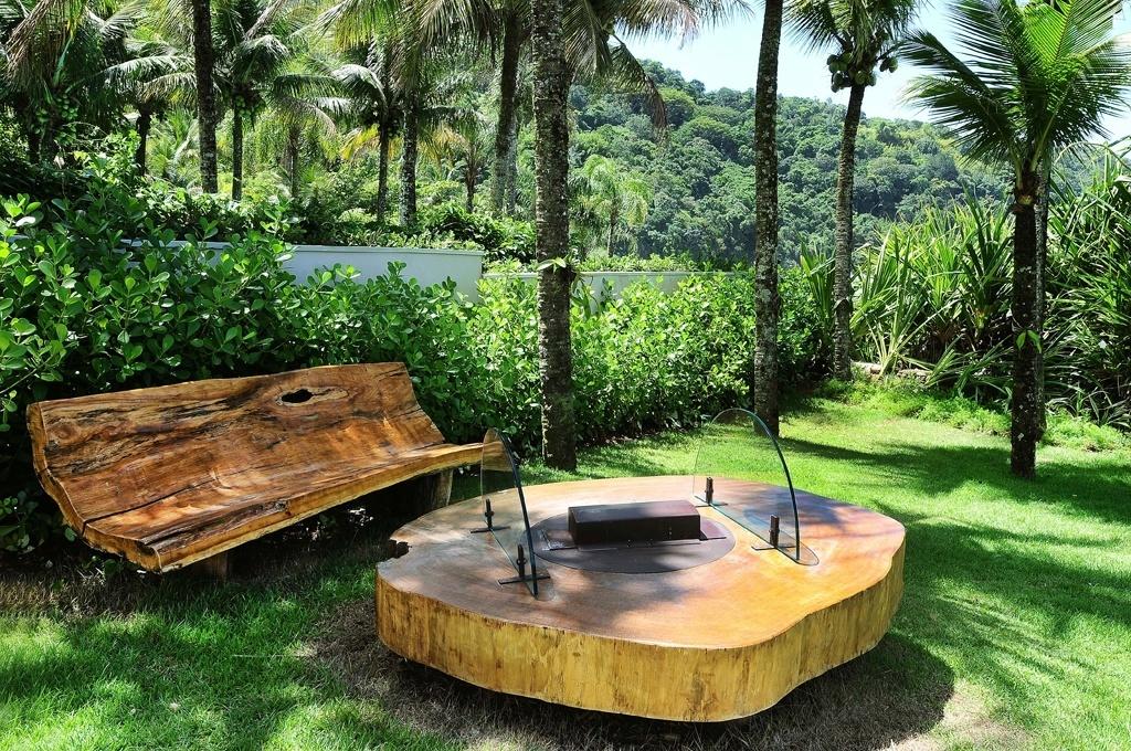 enfeites para jardim japones:projeto da designer de interiores Lidia Damy Sita, o jardim da casa de