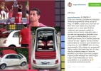 Ex-BBB anuncia venda de carro ganho como prêmio no reality show (Foto: Reprodução/instagram/@zagonelmarcelo)