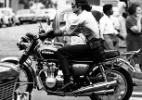 Xodó dos motociclistas, moto clássica atrai histórias e amizades - Acervo UH/Folhapress