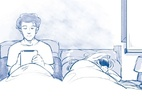 Celular na cama atrapalha o sono, mas há truques para driblar o malefício - Lydia Megumi/Folhapress