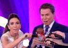 Mais pai do que apresentador, Silvio usa Teleton para promover Patricia - Reprodução/SBT