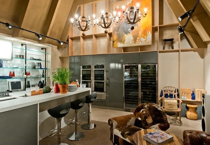3. Para quem busca convívio familiar - O Estar Gourmet, uma criação de Nadia Müller e Tufi Mousse, tem clima de casa no campo. Para que o