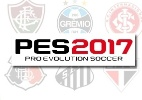 """Brasileirão no """"PES 2017""""? Logo do torneio aparece (e some) do site do jogo - Arte/UOL Jogos"""