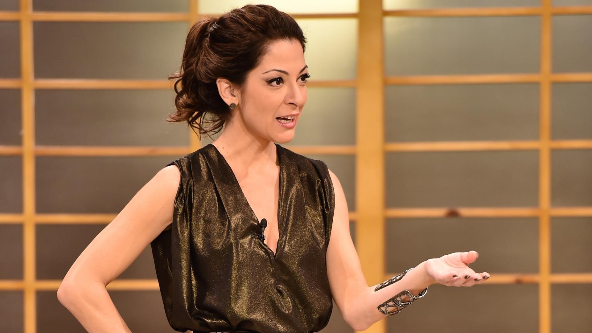 A jornalista e apresentadora Ana Paula Padrão