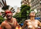 Homenageando Caetano e Tieta, bloco Tarado Ni Você desfila em SP - Bruno Santos/ UOL