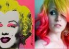 Cabeleireira americana cria colorações inspiradas em obras de arte icônicas - Reprodução/Instagram