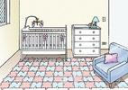 Confira algumas dicas para montar o quarto do bebê (Foto: Alice Campoy/Reprodução)