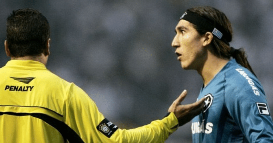 Castillo, goleiro que passou pelo Botafogo