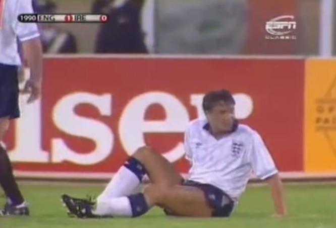 Gary Lineker passou por situação desagradável na Copa do Mundo de 1990