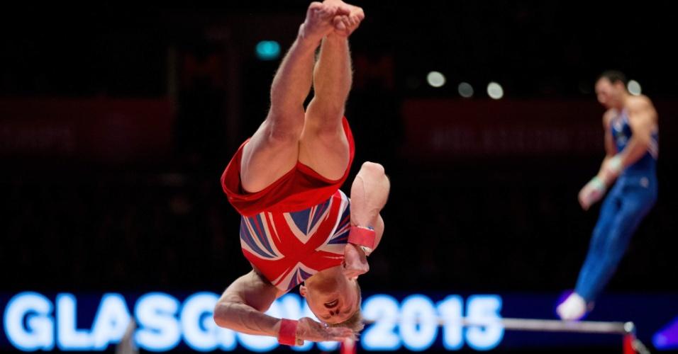 O inglês Wilson Nile participa do mundial de ginástica