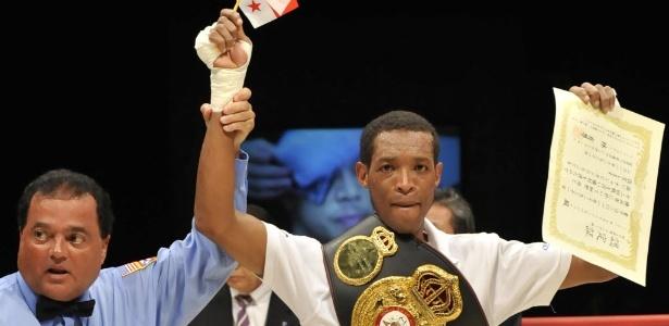 Caballero foi campeão de boxe