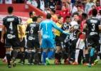 Ponte reclama de fair play, e Biro Biro tenta agredir Argel após jogo - JEFERSON GUAREZE/FUTURA PRESS/FUTURA PRESS/ESTADÃO CONTEÚDO