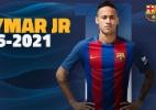 Barcelona oficializa renovação de Neymar até 2021