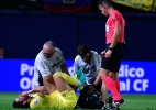 Pato sofre torção no tornozelo e sai machucado de jogo do Villarreal