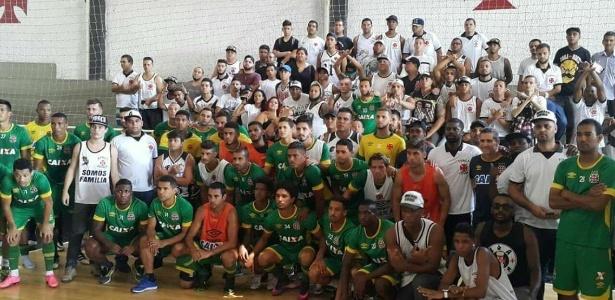 Organizadas do Vasco chegaram a se reunir com o elenco cobrando empenho