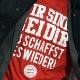 Bayern vence fácil, mas jogo é marcado por homenagem a zagueiro machucado