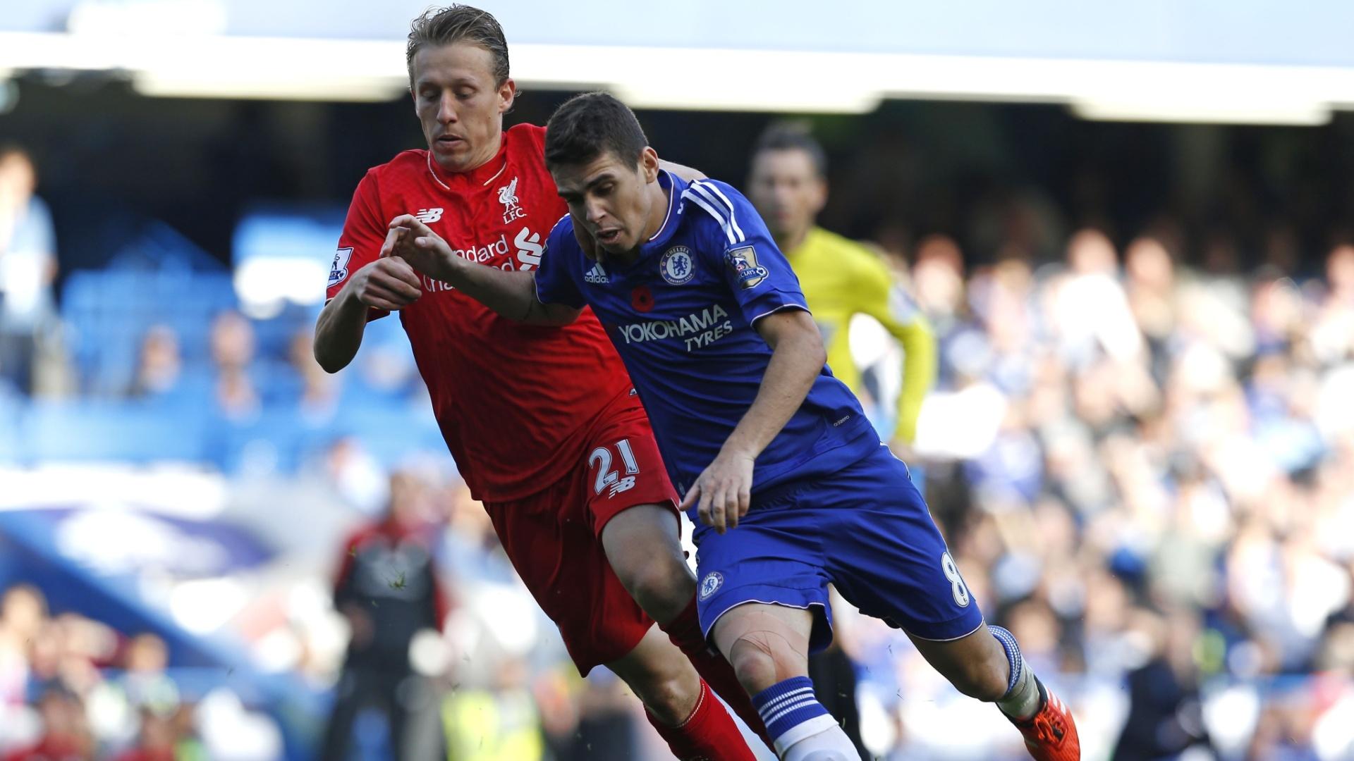 Oscar teve atuação apagada contra o Liverpool neste sábado (31)