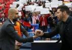 Guardiola diz saber como derrotar o Atlético, mas despista sobre estratégia