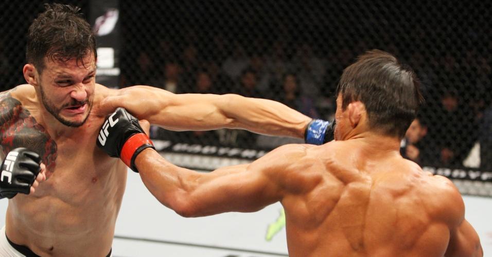 Alberto Mina venceu Akyiama por pontos, em decisão dividida que rendeu vaias do público da Coreia do Sul no UFC