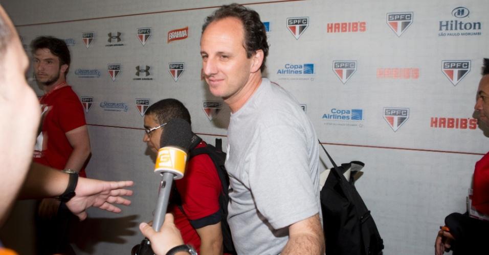 Rogério Ceni chega ao seu jogo de despedida, no Morumbi