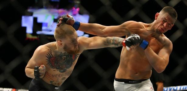 Derrotado por Nate Diaz, irlandês caiu do terceiro para o oitavo lugar no ranking do UFC