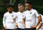 Dupla da seleção faz jogo de despedida no Santos e pode ser para sempre