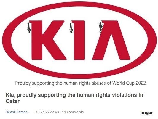 Internautas criam memes com os logos das patrocinadoras da Fifa após denúncias de trabalho escravo em obras da Copa de 2022