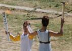 Rio-2016: Cerim�nia de acendimento da tocha ol�mpica