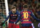 Piqué exalta competitividade de Messi e diz que argentino irá superar revés