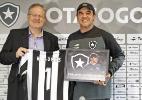 Gomes recebe presentes e almeja sequência no Botafogo: 'vida longa'
