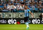 Capitão do penta do Grêmio deixou São Paulo por críticas e não quis voltar - LUCAS UEBEL/GREMIO FBPA