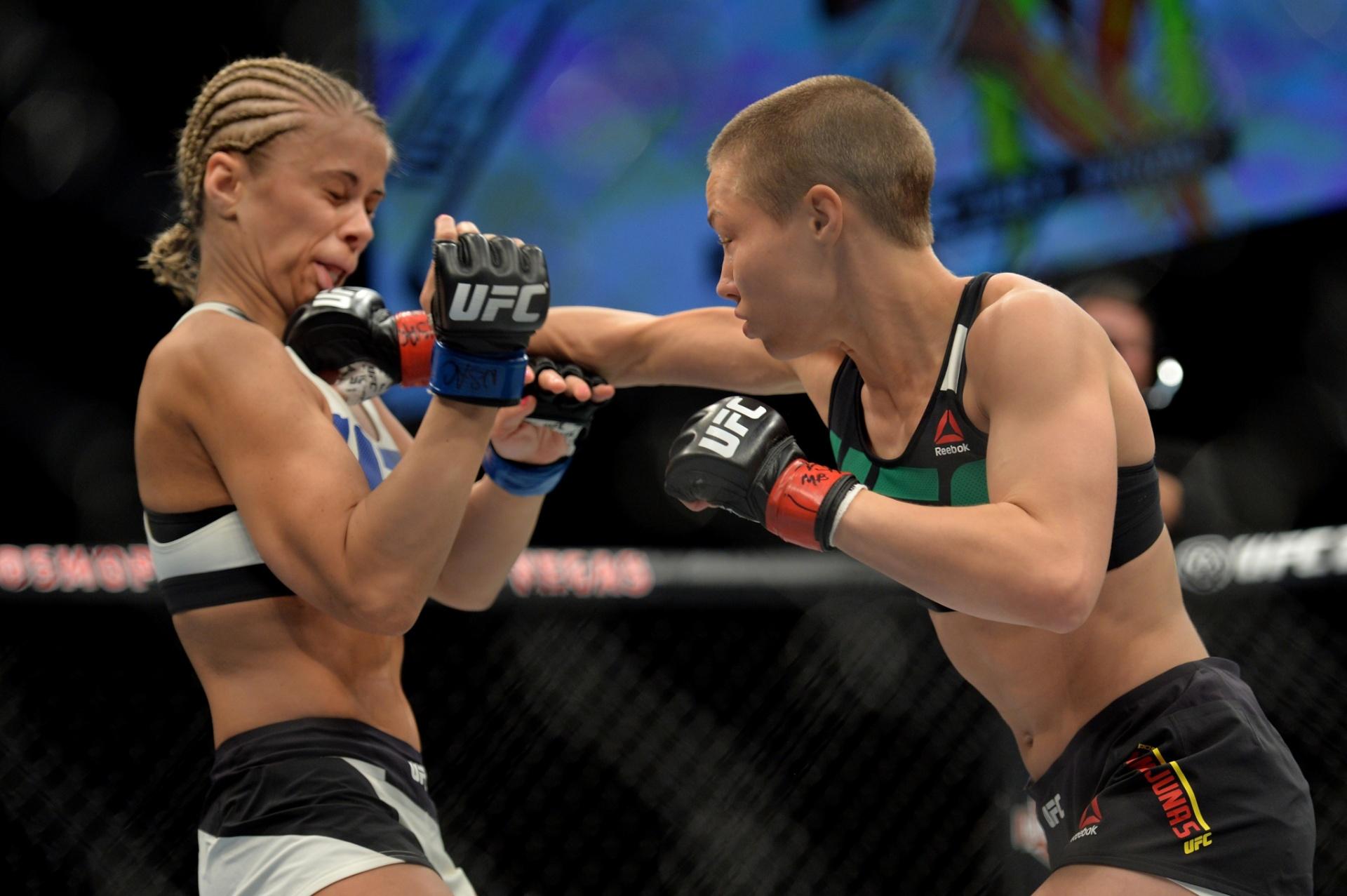 Rose Namajunas acerta um direto em sua vitória sobre Paige VanZant