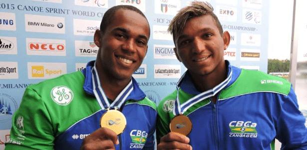 Isaquias conquistou sua segunda medalha no Mundial de canoagem de 2015, em Milão
