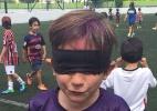 Vittorio escolheu Jogos Paraolímpicos como tema em aniversário de nove anos - Arquivo pessoal
