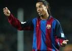 Ronaldinho será embaixador do Barcelona em inauguração de sede americana - AFP