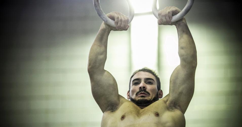 Especial Arthur Zanetti: exercícios nas argolas 14