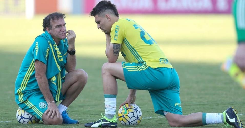 Moisés Cuca treino Palmeiras