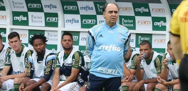 Palmeiras ficou longe do G-4 após o término da 35ª rodada do Brasileirão